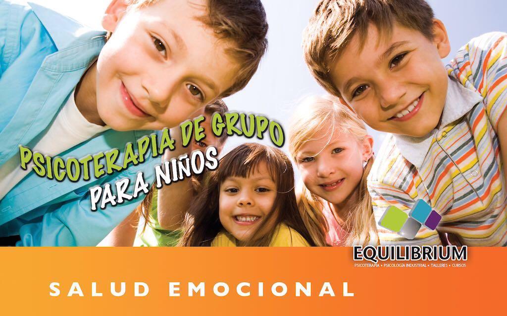 Psicoterapia de Grupo para niños