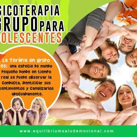 Psicoterapia de Grupo para Adolescentes